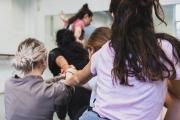 Dancers at Soundpainting Workshop