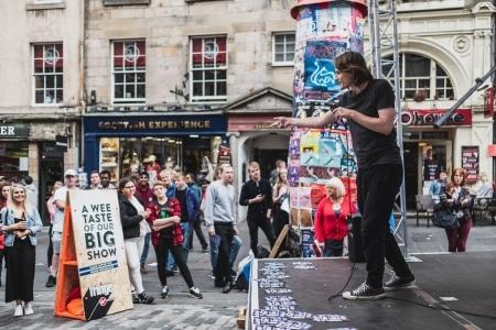 Antosh, Edinburgh Fringe Festival
