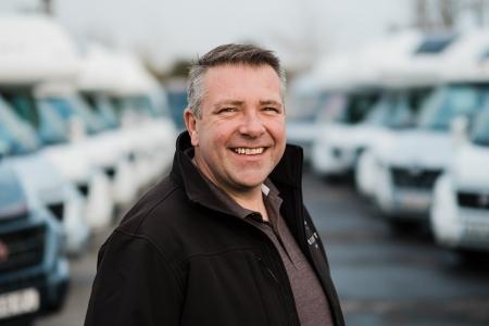 Matt Sims, The Motorhome Holiday Company