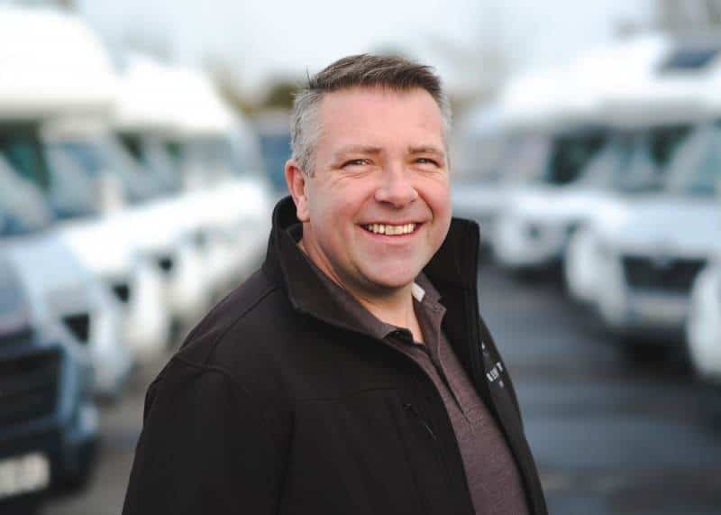 Matt Sims, The Motorhome Holiday Company
