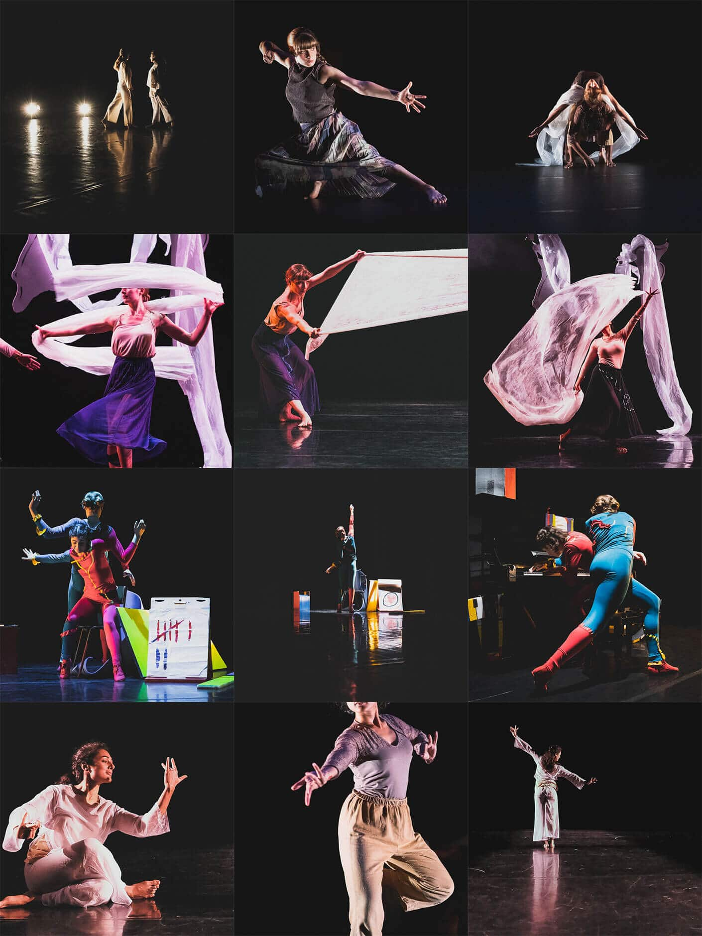 Event photography for London dance shows at The Place